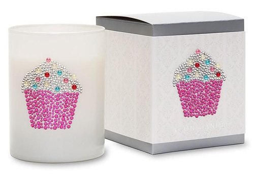 Primal Elements Cupcake Candle