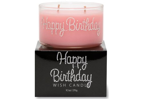 Primal Elements Happy Birthday Wish Candle