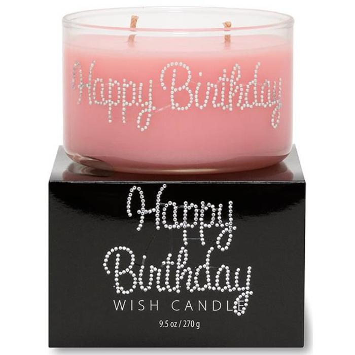 Happy Birthday Wish Candle