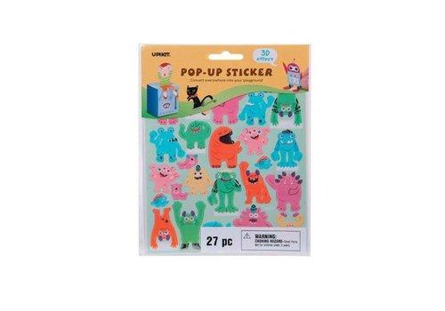 Darice Monsters Pop Up Stickers