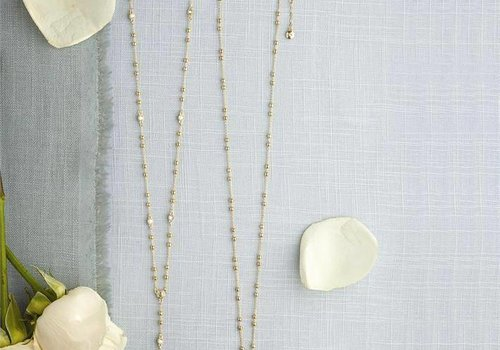 Two's Company Beaded Necklace