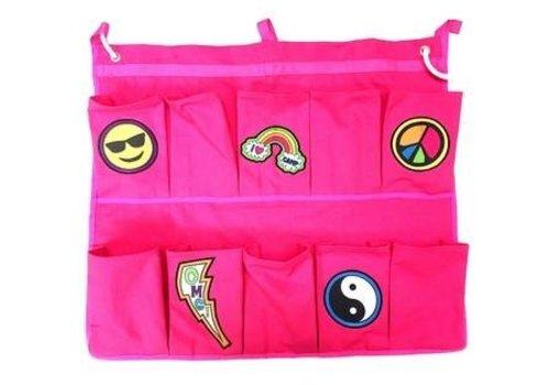 Confetti & Friends Bunk Junk Patch Shoe Bag