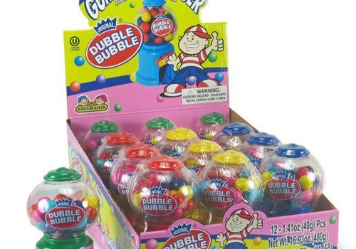 Gumdrop Lane Inc. Dubble Bubble Mini gumball Machine