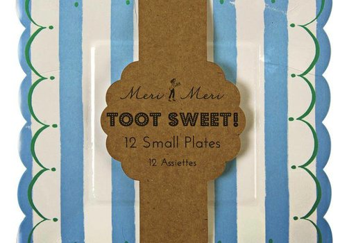 Meri Meri Toot Sweet Blue small Plates