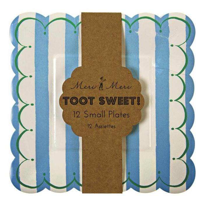 Toot Sweet Blue small Plates