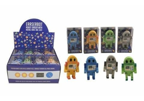 Streamline eraserbots