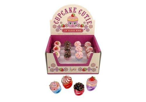 streamline Cupcake Cuties lip gloss Ring