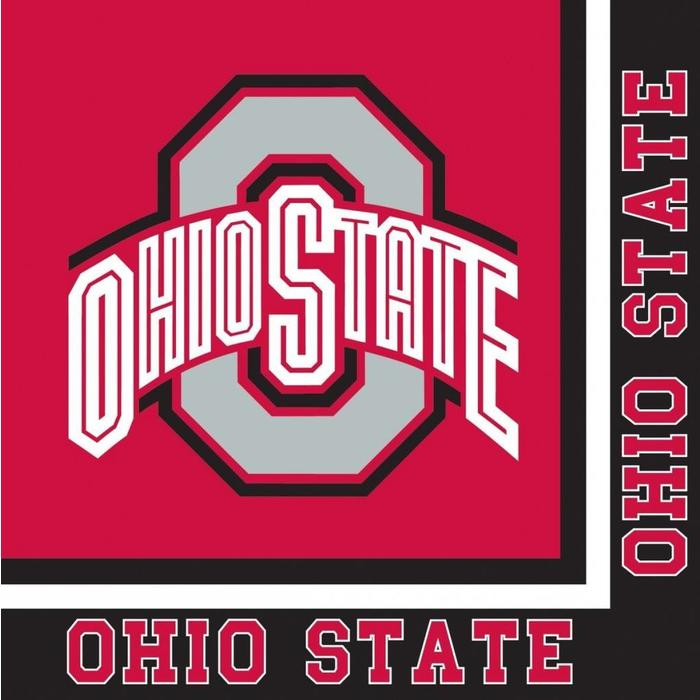 NCAA Beverage  Napkins Ohio State