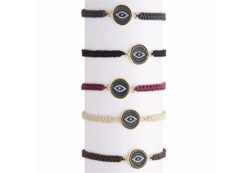 Two's Company Evil Eye Bracelet