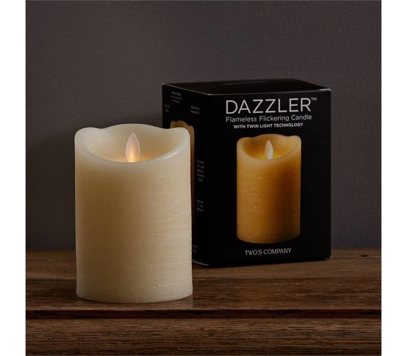 College Dazzler Flameless Candle