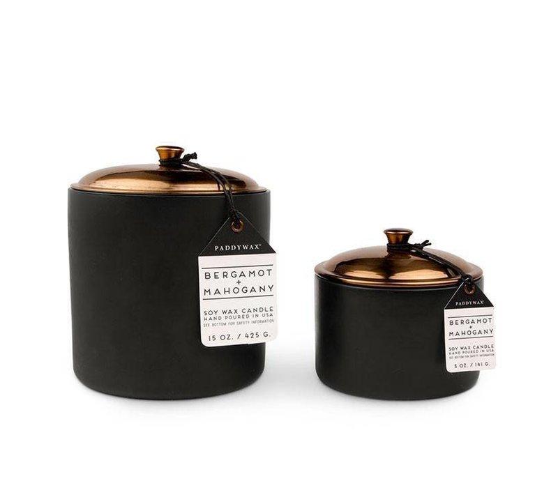 Bergamot & Mahogany 15 oz. Hygge Candle