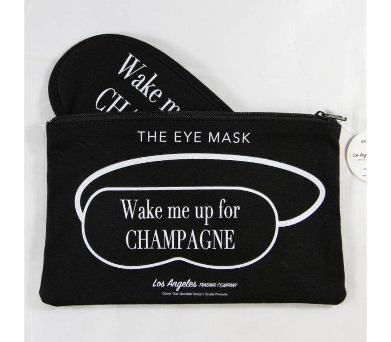 Wake Me Up For Champagne Eye Mask