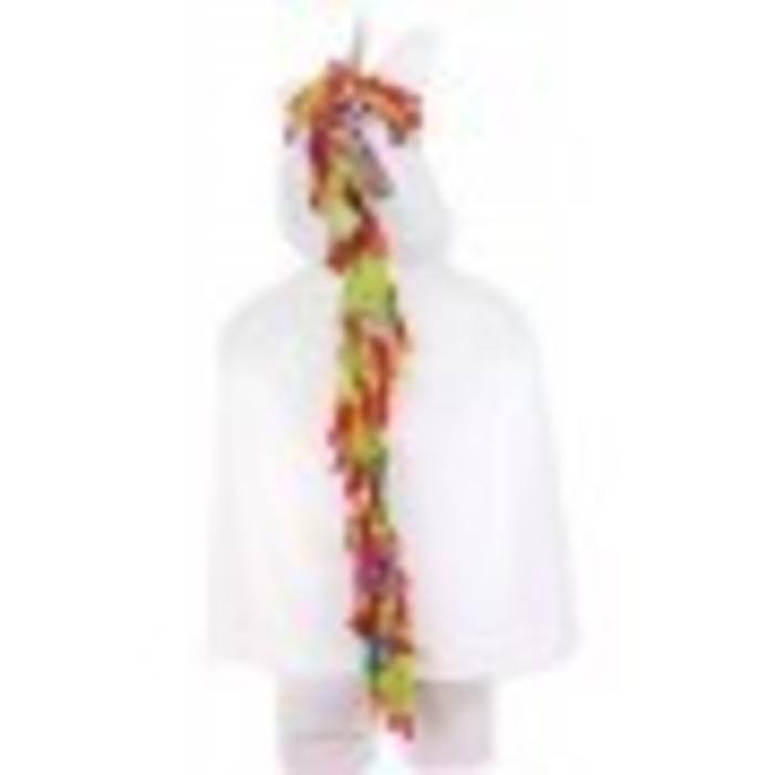 Unicorn Toddler Cape -white