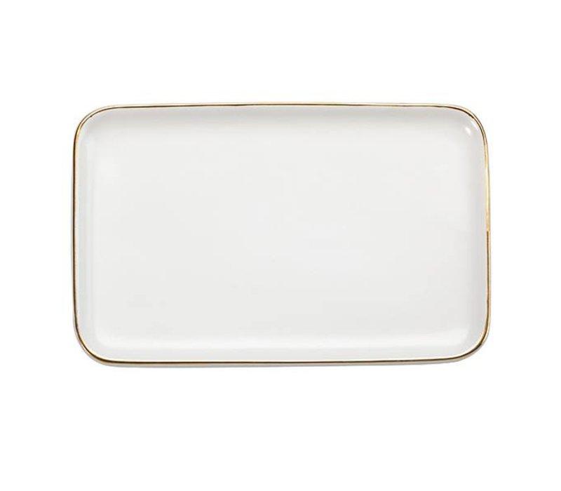 Monogrammed Ceramic Tray