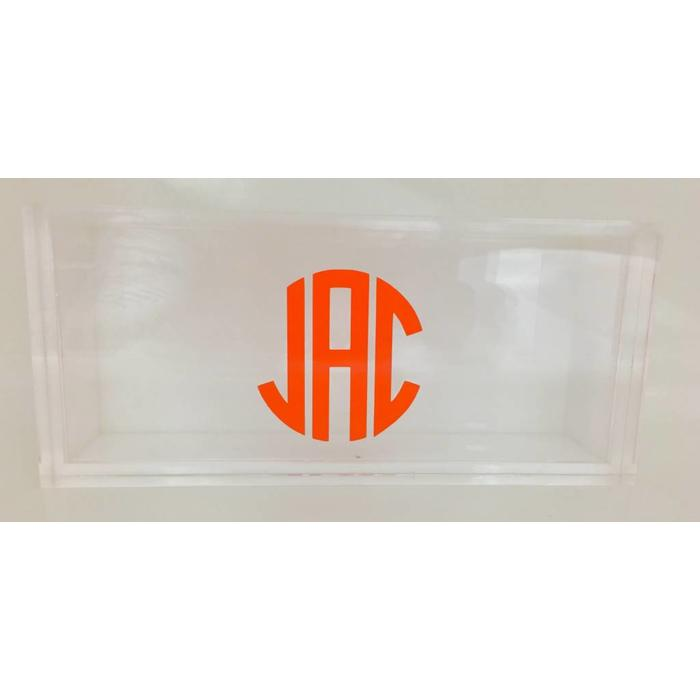 Personalized Large Lucite Box