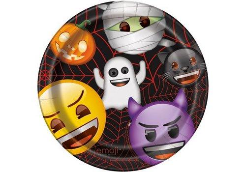 Halloween Emoji Lunch Plate