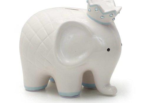 Coco The Elephant Piggy Bank- Blue