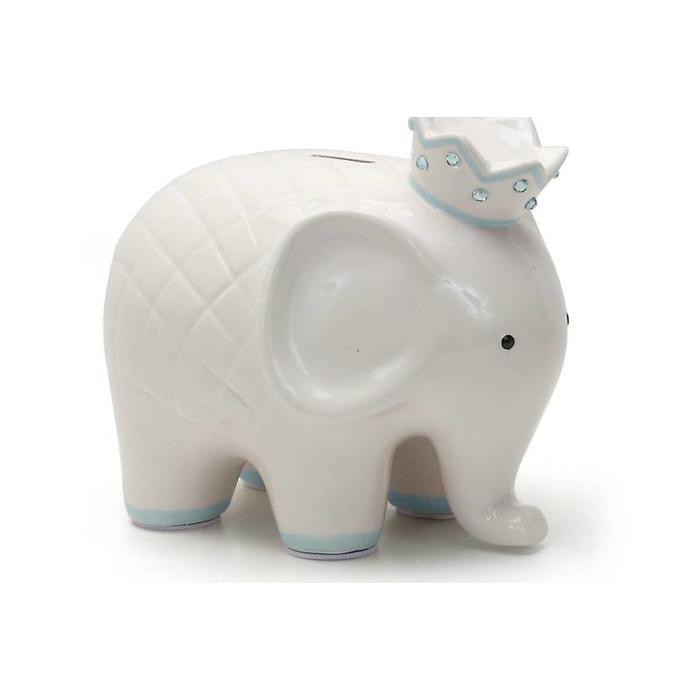 Coco The Elephant Piggy Bank- Blue