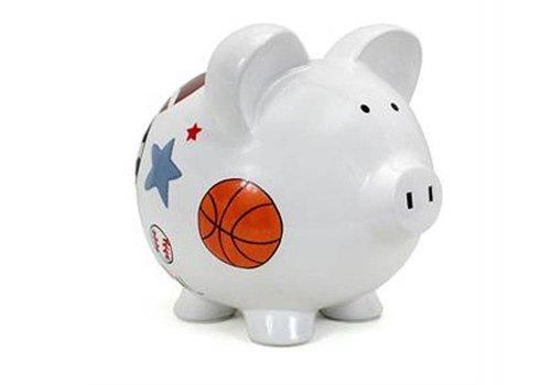 Large Sports Piggy Bank