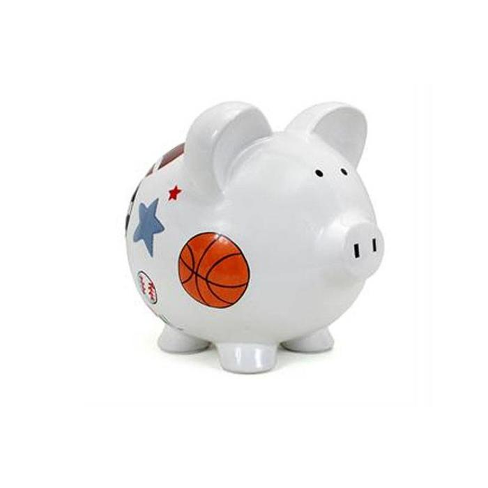 Large Sports Piggy Bank