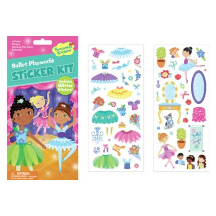Ballet Playworld Quick Sticker
