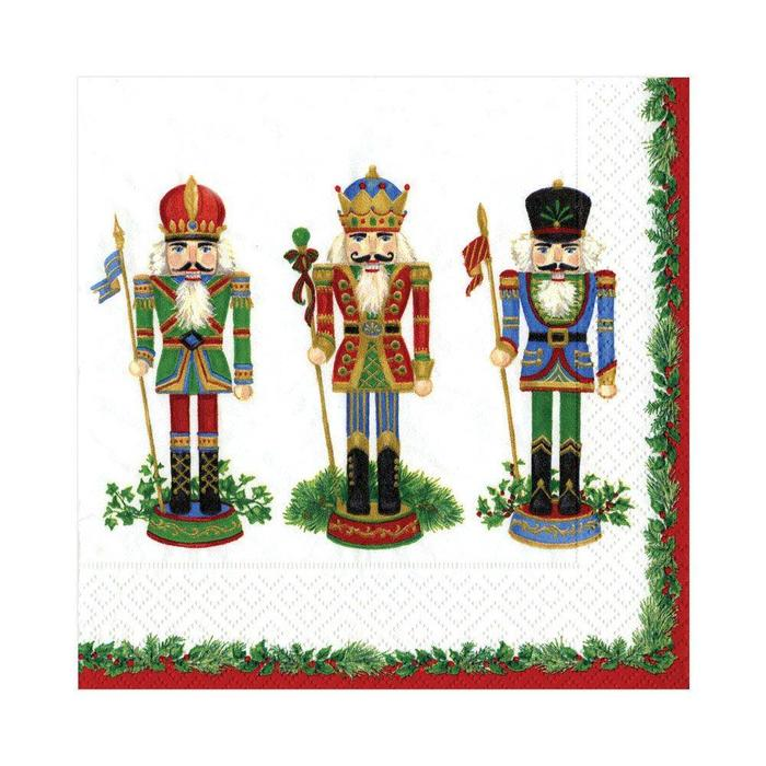NUTCRACKER SUITE IVORY NAPKIN LUNCHEON