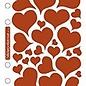 Sticko Foil Hearts