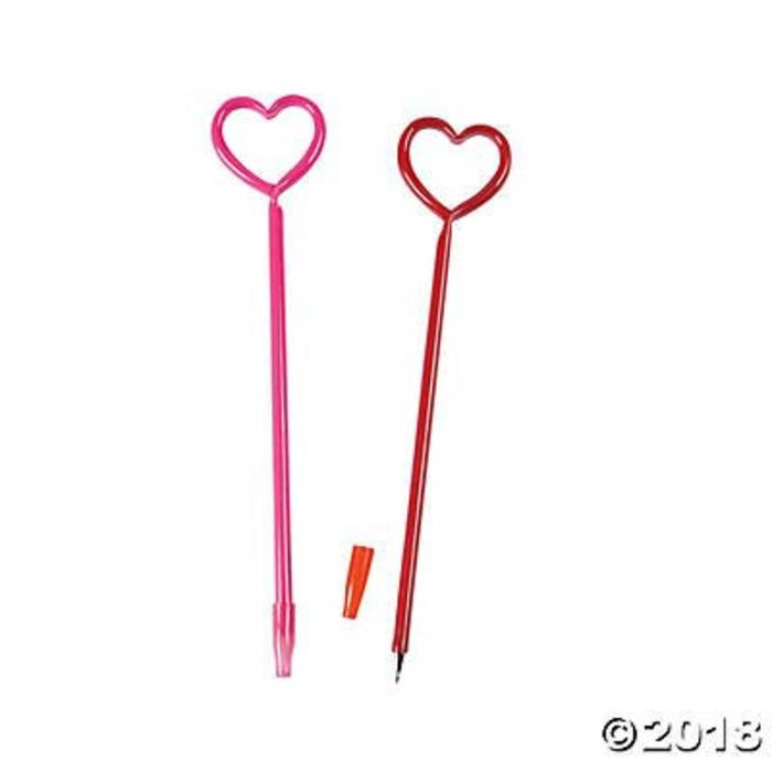 Glowing Heart Pen
