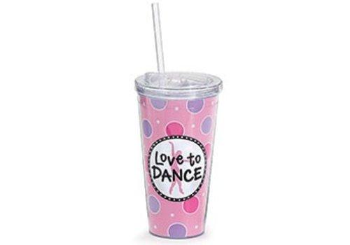 Love to Dance Tumbler