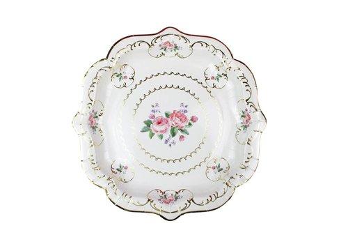 Tuly Chintz Paper Plate Medium
