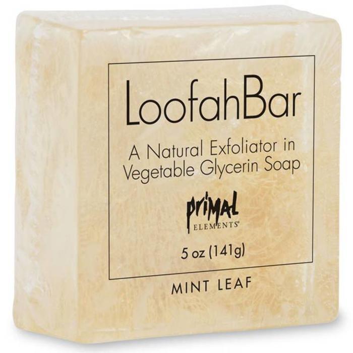 Mint Leaf Loofah Bar