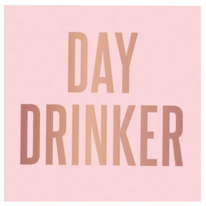 Day Drinker Beverage Napkin