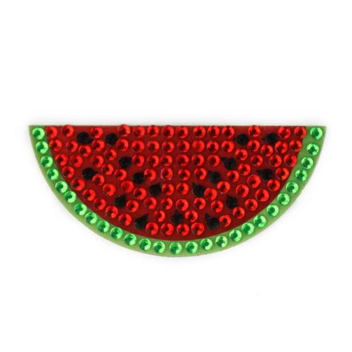 Stickerbeans 2 inch Rhinestone Watermelon
