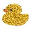 Stickerbeans 2 inch Rhinestone Duck