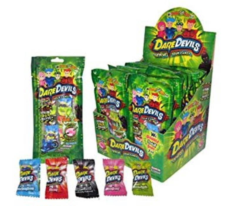Dare Devils Extreme Sour Candy