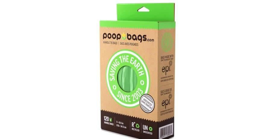 Poop Bags Sacs de ramassage avec poignées Poopbags