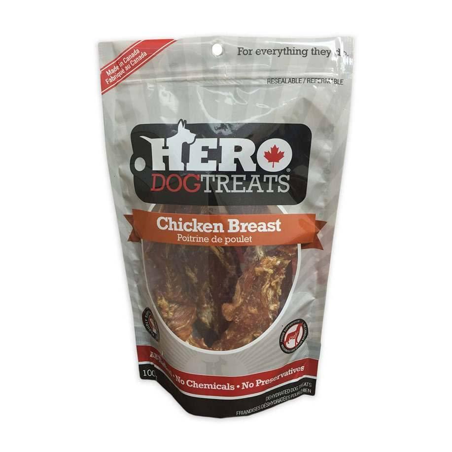Hero Dog Treats Poitrine de poulet