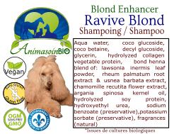 Animasoin Bio Shampoing Ravive blond