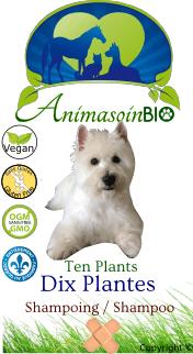 Animasoin Bio Shampoing Dix plantes