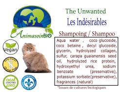 Animasoin Bio Shampoing Les Indésirables pour chat