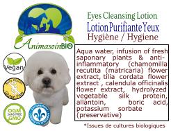 Animasoin Bio Lotion Nettoyante pour les yeux