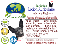 Animasoin Bio Lotion Auriculaire Liquide