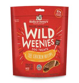 Stella & Chewy`s Gâteries Wild Weenies, Poulet