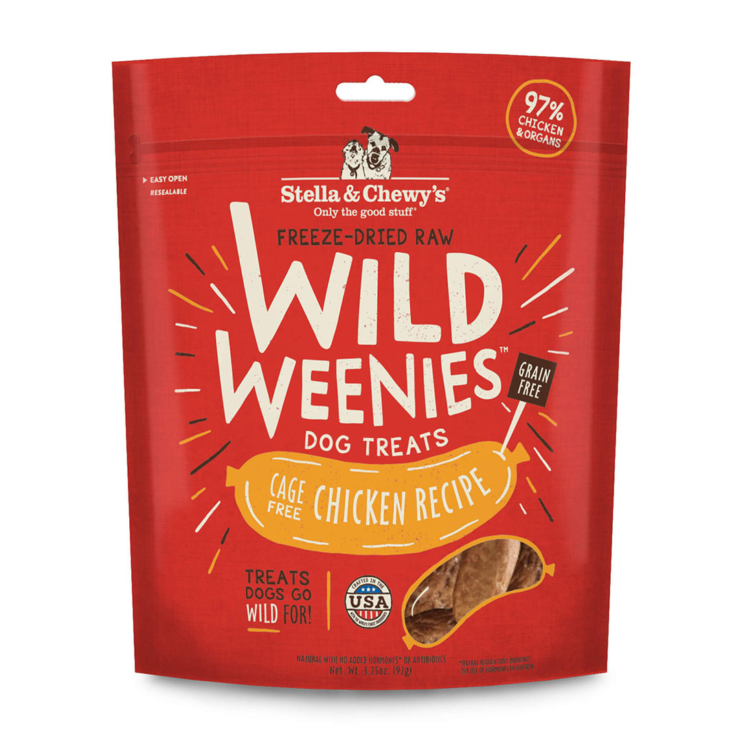 Stella & Chewy`s Gâteries Wild Weenies, Poulet