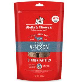 Stella & Chewy`s Galettes repas lyophilisées, Chevreuil