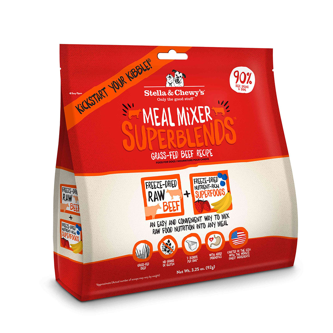 Stella & Chewy`s Mélange à repas Superblends Meal Mixer, Boeuf