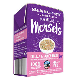 Stella & Chewy`s Cat-Marvelous Morsels, Poulet et Saumon