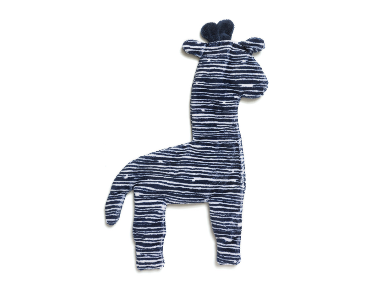 WestPaw Floppy Giraffe Large, Bleue