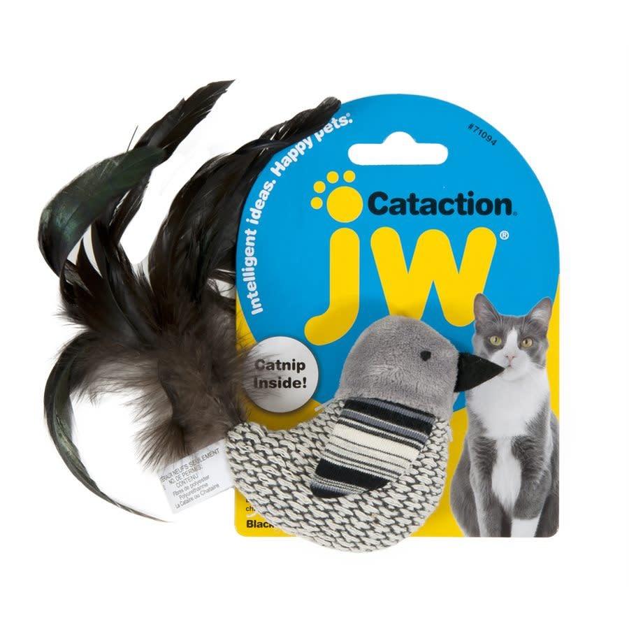 JW Oiseau blanc et noir Cataction