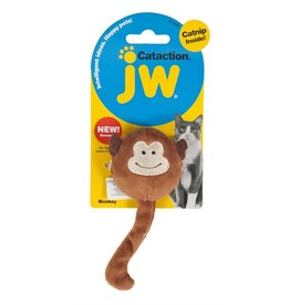 JW Singe en peluche Cataction